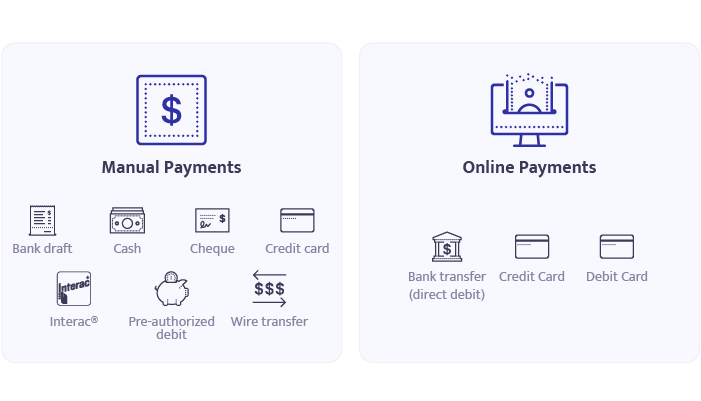 Building Stack payment options