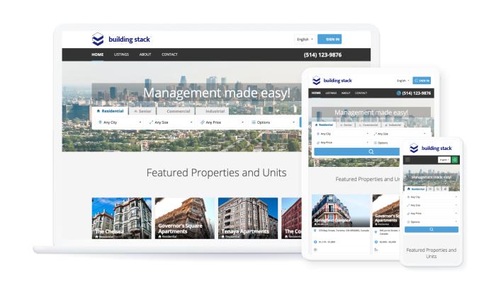 Building Stack website